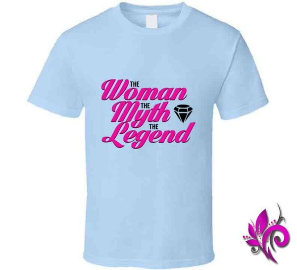The Woman The Myth The Legend Classic / Light Blue / Small T-Shirt