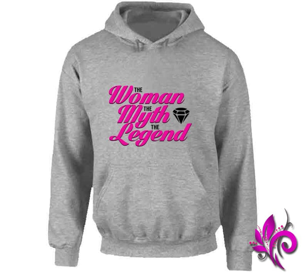 The Woman The Myth The Legend Hoodie / Sport Grey / Small T-Shirt