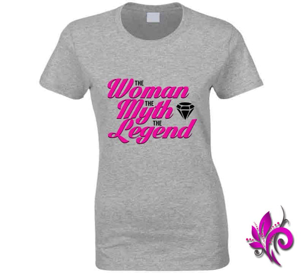 The Woman The Myth The Legend Ladies / Sport Grey / Small T-Shirt
