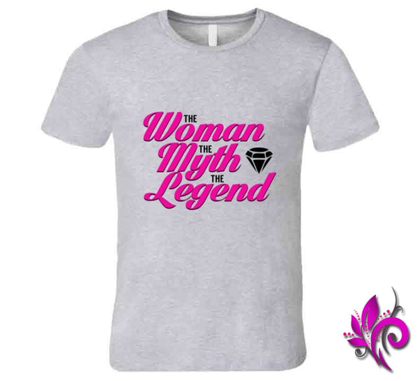 The Woman The Myth The Legend Premium / Sport Grey / Small T-Shirt