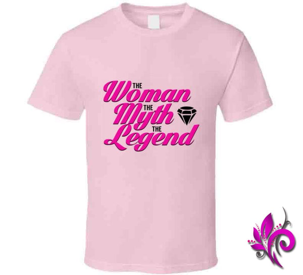 The Woman The Myth The Legend Classic / Light Pink / Small T-Shirt