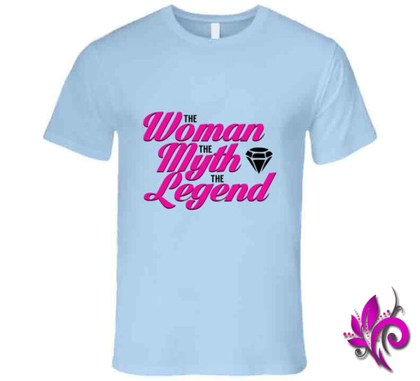 The Woman The Myth The Legend Premium / Light Blue / Small T-Shirt