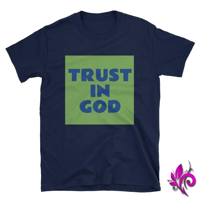 Trust In GOD Navy / S Express Tee