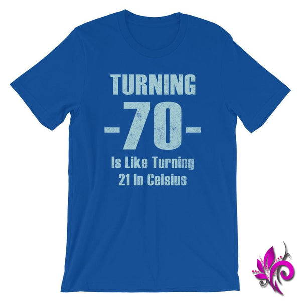 Turning -70- True Royal / S Dudes