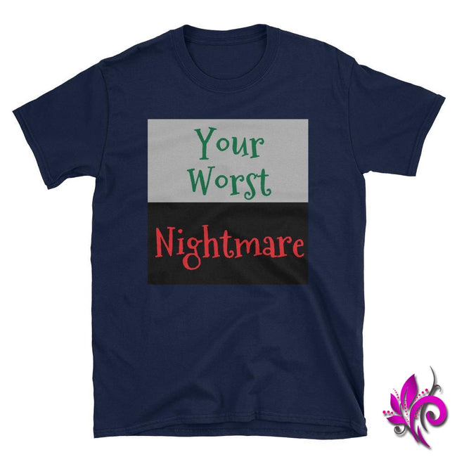 Your Worst Nightmare Navy / S Express Tee