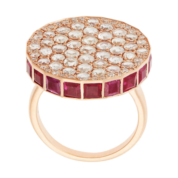 Ruby Ice Candy Ring P-D-Ru