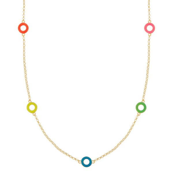 Rainbow Candy Necklace