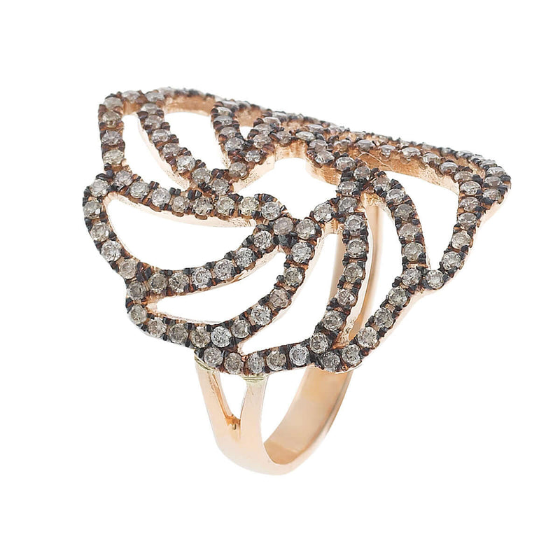 Small Lace Ring P-Chd-S