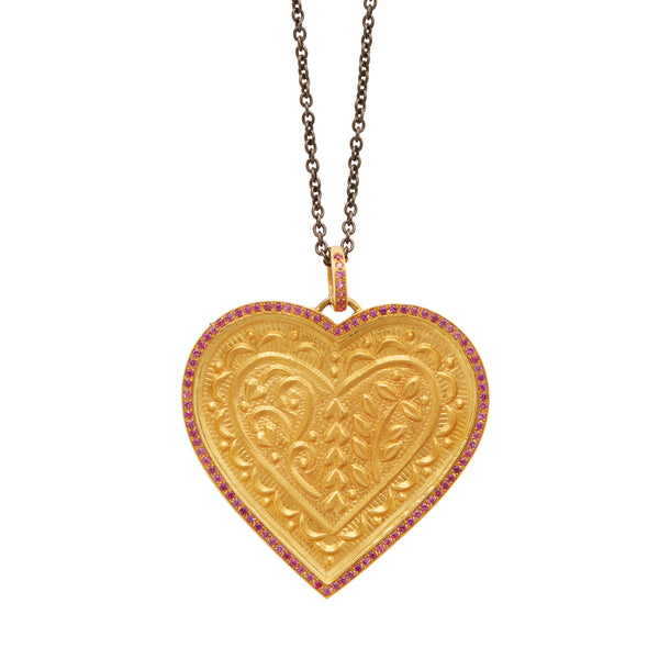 Touch Heart Pendant Y-PS