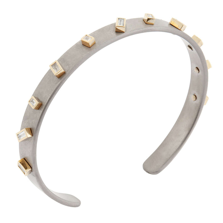 Baguette Sprinkles Small Titan Cuff Y-D