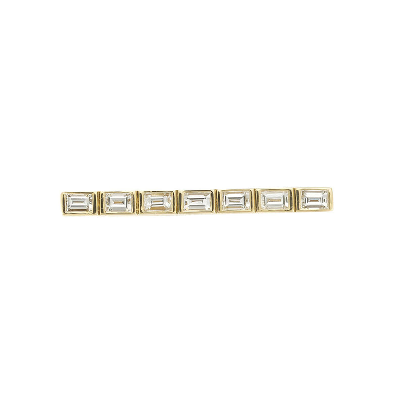 Thread Baguette Bar Ring 7 D