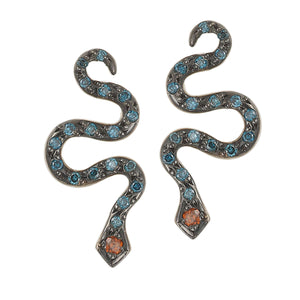 Little Snake Stud W-BLUE D-BUR D