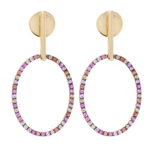 Empty Mirror Earrings Y-Mcs-S