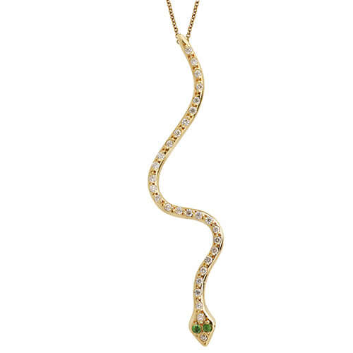 Lucky Snake Pendant Y-D-Ts