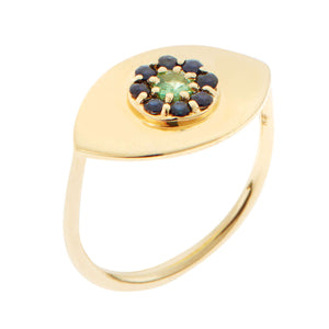Blossom Eye Ring Y-BS-TS
