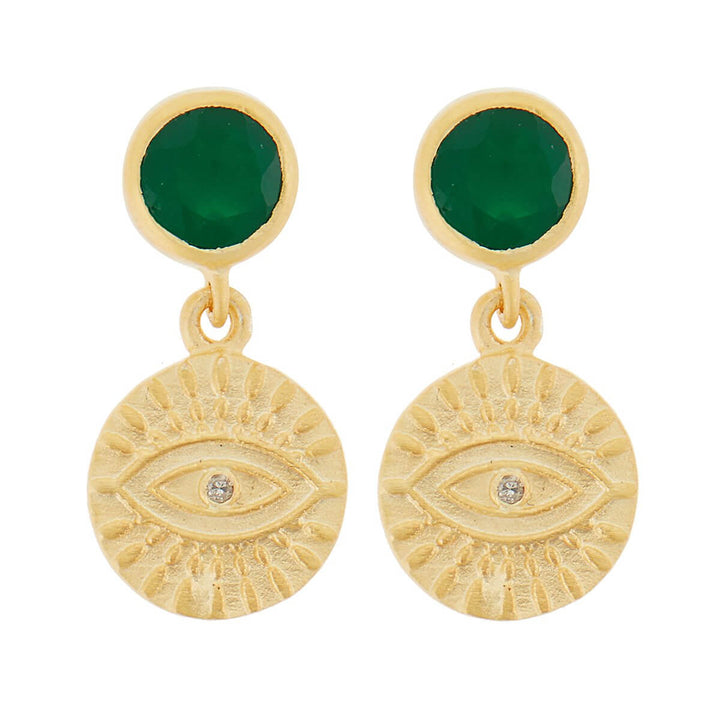All Seeing Eye Earrings