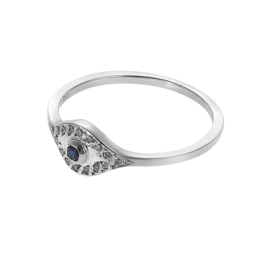 Wisdom Eye Ring W-D-BS