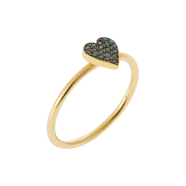 Green Love Ring