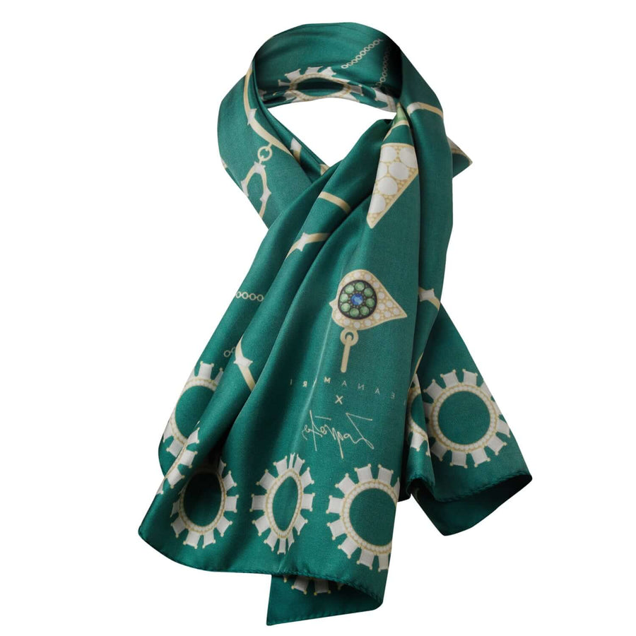Eye Love Jewelry - Silk Scarf