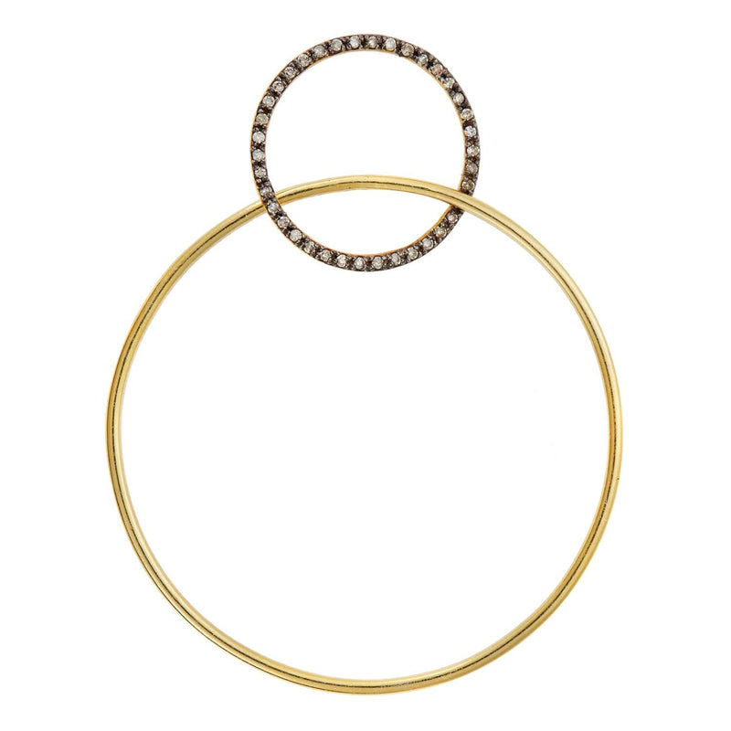 Double Slim Hoops Y-OXS-CHD-M