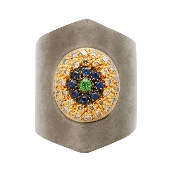 Round Eye Shield Ring CHD-BS-TS