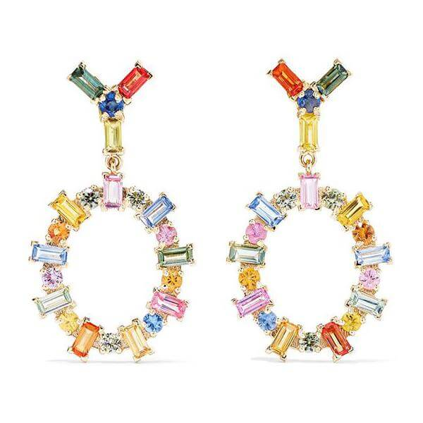 Baguette Again Earrings Y-Mcs-S