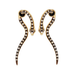 Little Boa Earrings Y-OXS-CHD