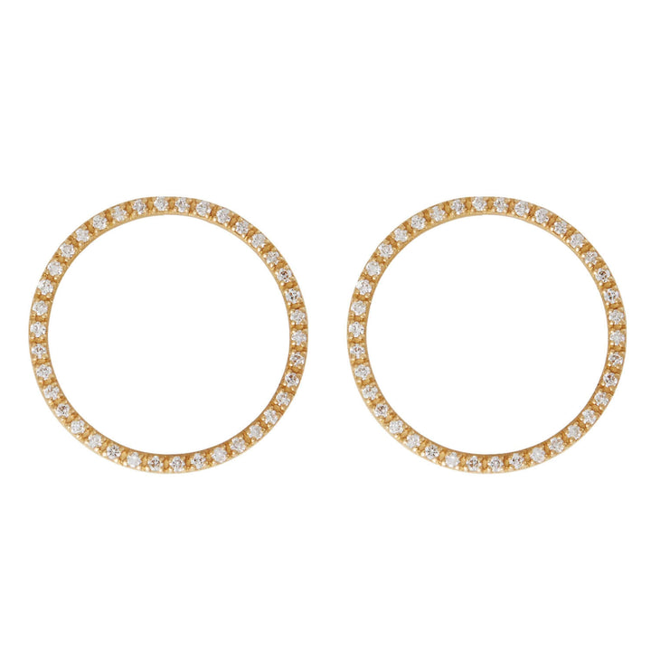 Mini Ceremony Circle Studs Y-CHD