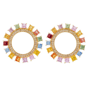 Glimmer Sun Earrings Y-D-Mcs