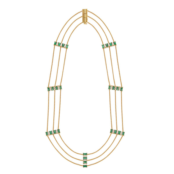 Grass Strand Necklace Y-D-M