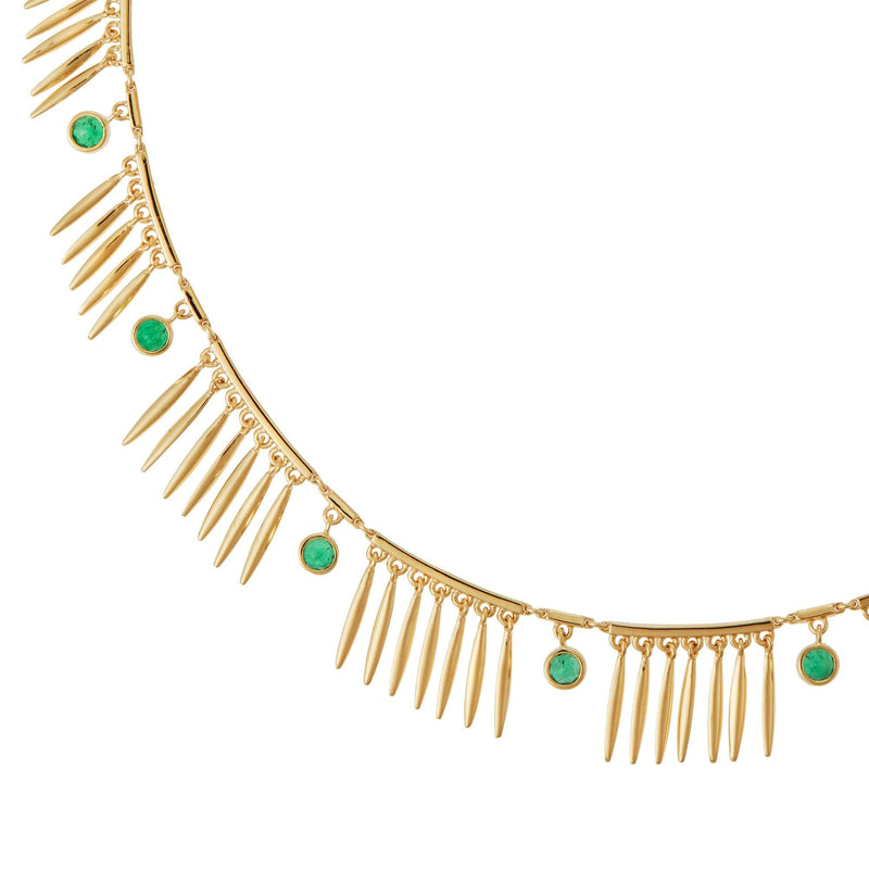 Grass Sunny Necklace Y-EM