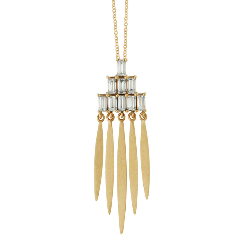 Grass Spike Pendant Y-D