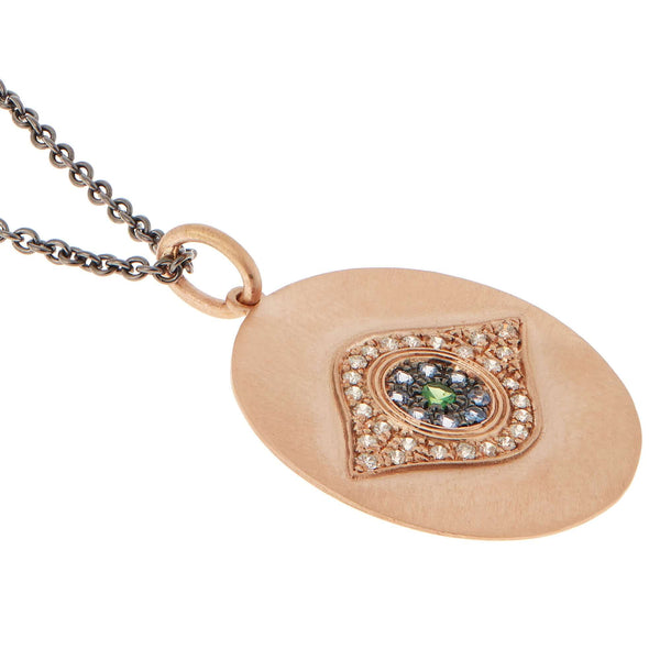 Golden Eye Pendant P-OXS-CHD-BS-TS
