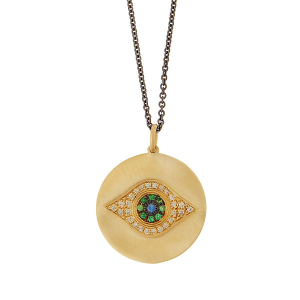 Golden Eye Pendant Y-OXS-CHD-TS-BS