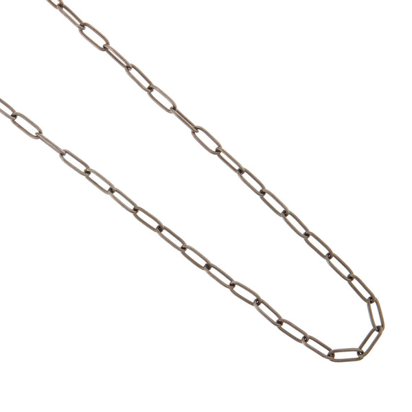 Steel wide link chain