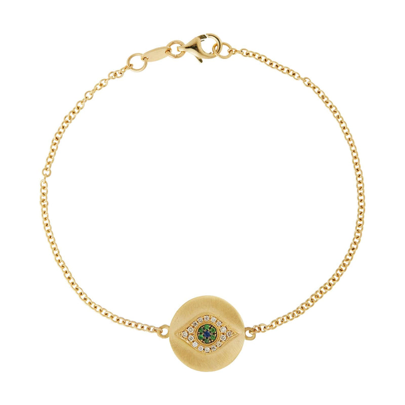 Golden Eye Bracelet Y-Y14-OXS-CHD-TS-BS