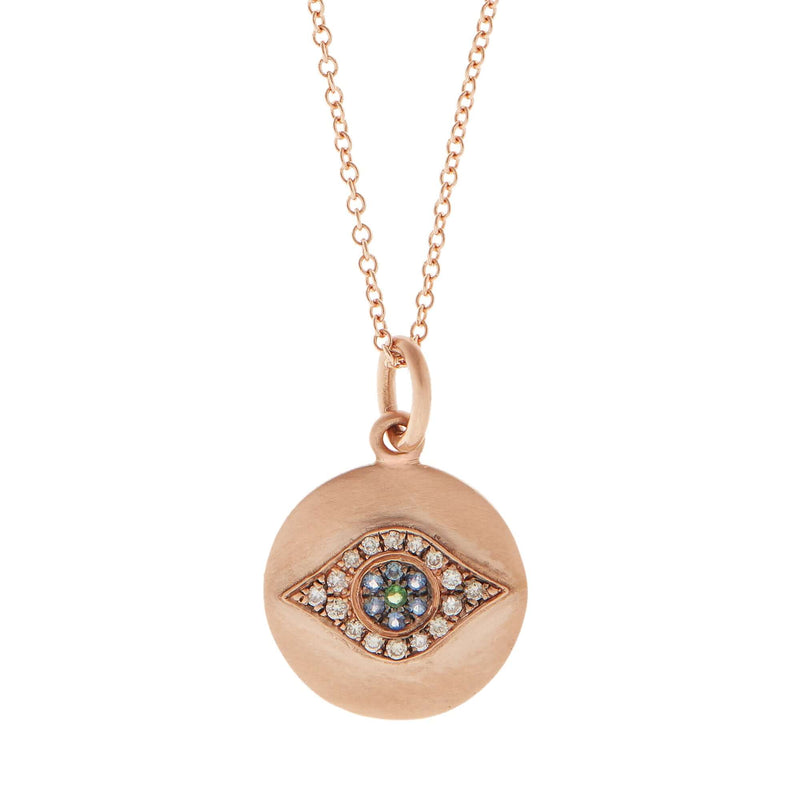 Mini Golden Eye Pendant P-OXS-CHD-BS-TS
