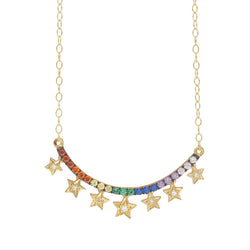 Starry Rain Necklace