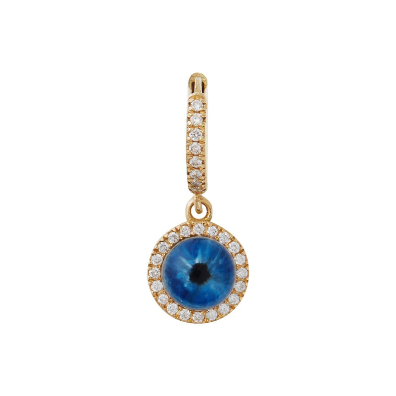 Deep Blue Eye Earrings XS