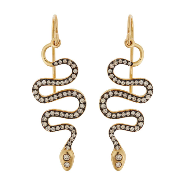 Black Mamba Earrings Y-Oxs-Chd-S