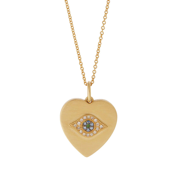 Eye Heart Pendant Y-OXS-CHD-BS-TS