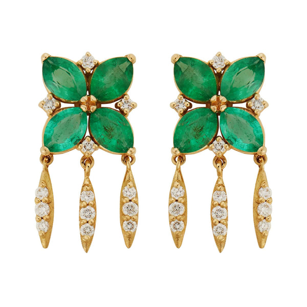 Grass Lilly Earrings Y-D-EM