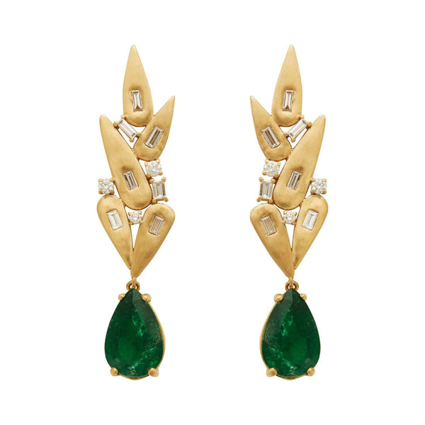 Grass Paradise Earrings Y-D-EM