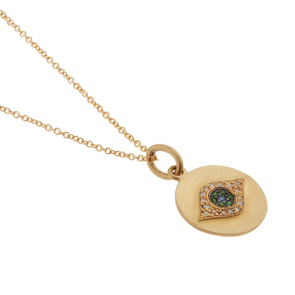 Mini Golden Eye Pendant Y-OXS-CHD-TS-BS