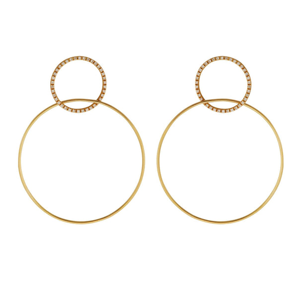 Double Slim Hoops Y-D-M