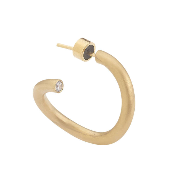 Round Pipe Twist Hoops