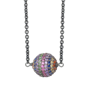 Rainbow Planet Necklace