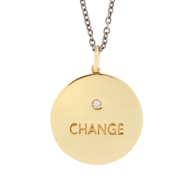 Welcome Change Pendant Y-D-RU