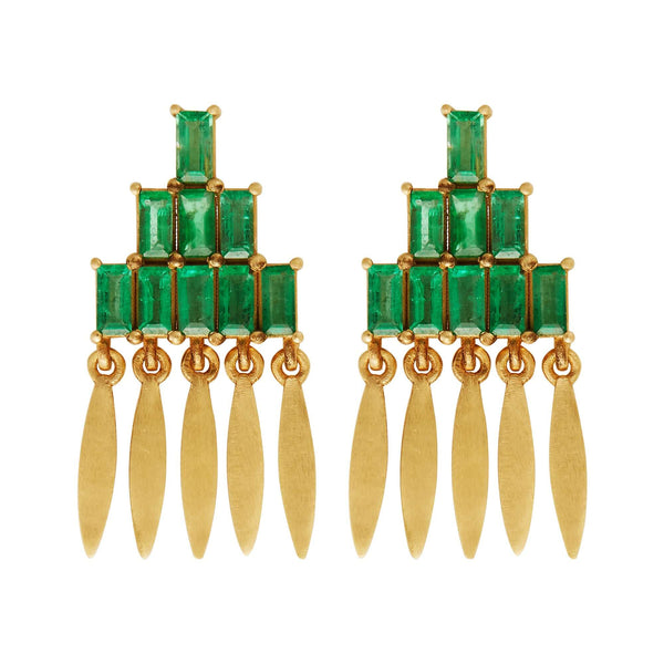 Grass Mini Spike Earrings Y-EM
