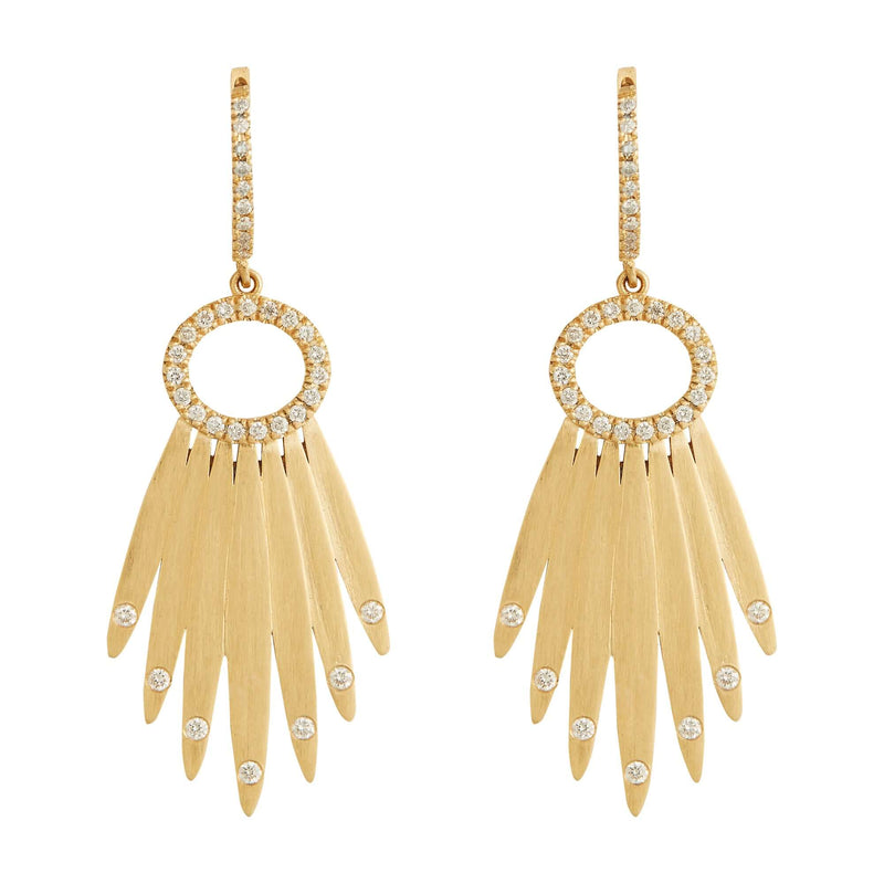 Grass Lasso Earrings Y-D